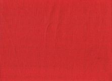 Hessian vermelho foto de stock royalty free