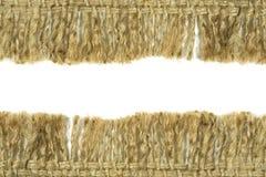 Hessianssäcktextur royaltyfri fotografi