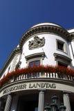Hessischer Landtag in Wiesbaden Stock Photography