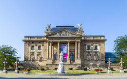 The Hessisches Staatstheater Wiesbaden Royalty Free Stock Photos