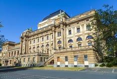 The Hessisches Staatstheater Wiesbaden Stock Photos