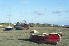Free Heswall Boatyard Mooring And Slipway Sunset Stock Image - 71803531