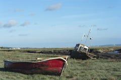 Free Heswall Boatyard Mooring And Slipway Sunset Stock Image - 71803611