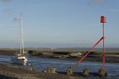 Free Heswall Boatyard Mooring And Slipway Sunset Royalty Free Stock Photography - 71804247