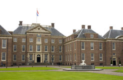 het ολλανδικό παλάτι τουαλετών βασιλικό Στοκ φωτογραφία με δικαίωμα ελεύθερης χρήσης