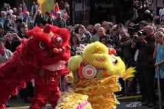 het 1st Festival van Düsseldorf China, \ Stock Fotografie