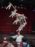 het 1st Festival van Düsseldorf China, \ Stock Afbeelding