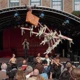 het 1st Festival van Düsseldorf China, \ Royalty-vrije Stock Foto's