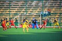 Het 3de Plaatsen van het Hockey 2009 van de Kop van Azië van mensen Stock Fotografie
