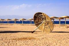 Het aalSjeik van de charme, nieuw strand stock afbeeldingen
