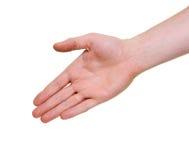 Het aanbieden om uw hand te schudden Royalty-vrije Stock Foto's