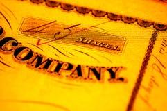 Het Aandeel van het bedrijf Stock Fotografie