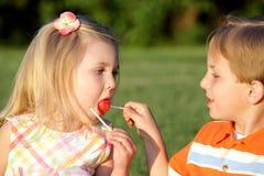 Het aandeel van het suikergoed Royalty-vrije Stock Fotografie
