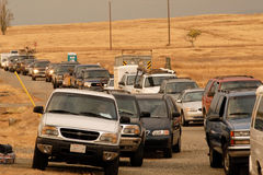 Het Aankomen van voertuigen Royalty-vrije Stock Foto
