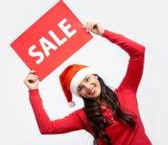 Het aankondigen van verkoop Stock Afbeelding