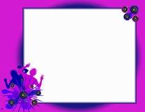 Het Aanplakbord van Grungedansers Royalty-vrije Stock Fotografie