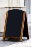 Het aanplakbord van het restaurantmenu Stock Afbeelding