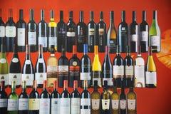 Het aanplakbord van wijnen Stock Foto's