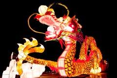 Het aansteken van draak-3 Royalty-vrije Stock Foto's