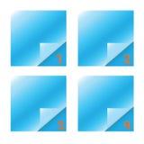 Het aantal van de inzameling documenten van de plasticinenota Royalty-vrije Stock Foto