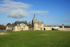 Het aantrekkelijke Franse chateaunoorden van Parijs Stock Afbeelding