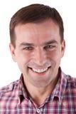 Het aantrekkelijke Glimlachen van de Mens Stock Afbeelding