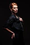 Het aantrekkelijke jonge model stellen Royalty-vrije Stock Foto's