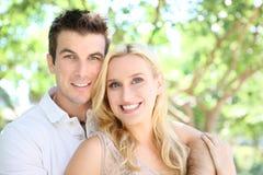 Het aantrekkelijke Paar van de Man en van de Vrouw stock fotografie