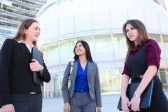 Het aantrekkelijke Team Bedrijfs van de Vrouw stock foto