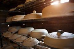 Het aardewerk van de aardewerkkeuken Royalty-vrije Stock Foto