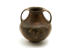 Het Aardewerk van Etruscan stock foto