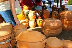 Het aardewerk van Handcraft Stock Foto's