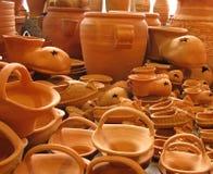Het aardewerk van het aardewerk stock afbeelding