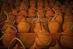 Het aardewerk van Thailand Stock Afbeeldingen