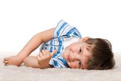 Het is aardig tapijt! Royalty-vrije Stock Foto
