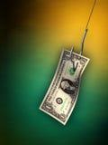 Het aas van het geld Royalty-vrije Stock Foto's