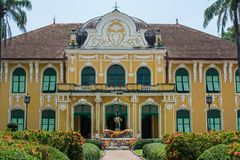 Het Abhaiphubejziekenhuis in Prachin Buri, Thailand Royalty-vrije Stock Fotografie