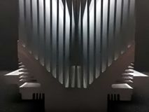 Het absorptievat van de aluminiumhitte royalty-vrije stock foto's