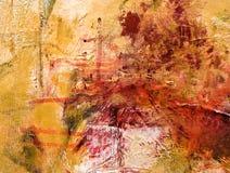 Het abstracte acryl schilderen Stock Afbeeldingen