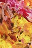 Het abstracte acryl schilderen Stock Fotografie