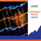 Het abstracte art. van de bedrijfbrochure coverpage- Royalty-vrije Stock Afbeelding