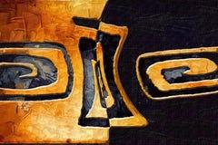 Het abstracte art. van het kleurenontwerp Stock Fotografie