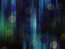 Het abstracte beeld van de behang grafische kunst, de winter donkerblauw met grijs en groen (Ontwerp) Stock Foto's