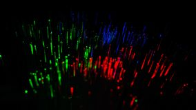 het abstracte beeld van Kleurrijk licht explodeert Chemische kleur stock afbeelding