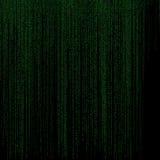 Het abstracte binaire code vallen Royalty-vrije Stock Foto