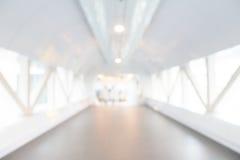Het abstracte binnenland van het onduidelijk beeldhotel Stock Foto