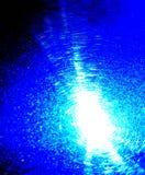 Het abstracte blauwe effect van de supernovaexplosie royalty-vrije stock foto's