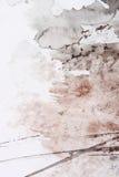 Het abstracte borstel schilderen royalty-vrije illustratie