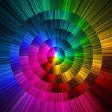 Het abstracte cirkelprisma kleurt achtergrond Royalty-vrije Stock Foto
