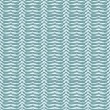 Het abstracte 3D Naadloze Vectorpatroon van de Strepen Rustieke Textuur Hand Getrokken Golvend Water royalty-vrije illustratie